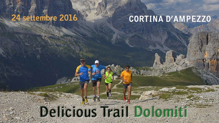 Delicious Trail Dolomiti : trail running con gusto