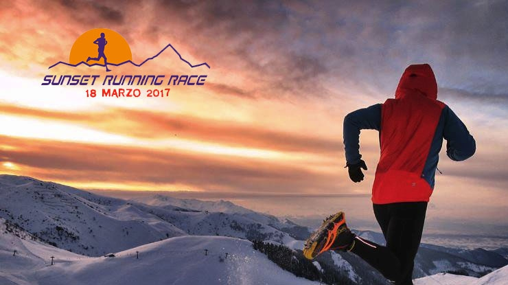 Sunset Running Race…enjoy the snow!