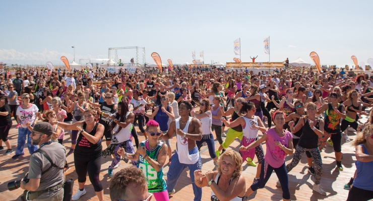 Skechers Bibione Beach Fitness!